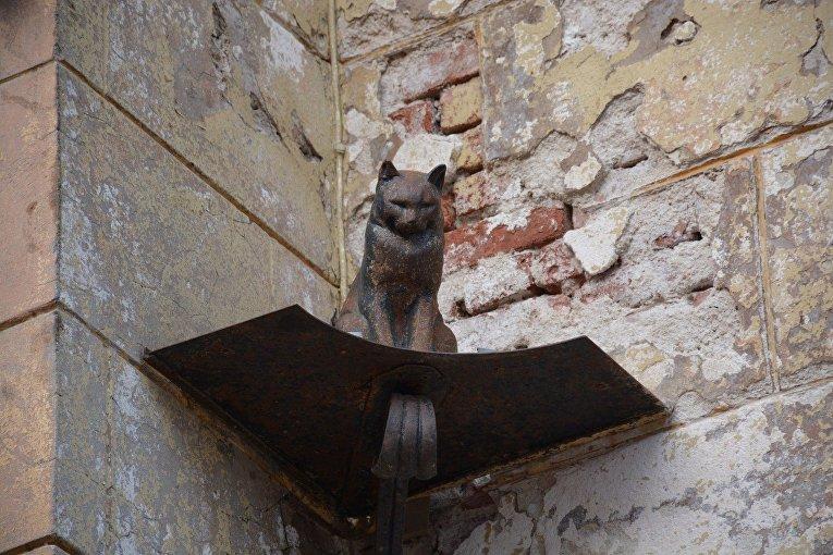Памятник кошке в Санкт-Петербурге