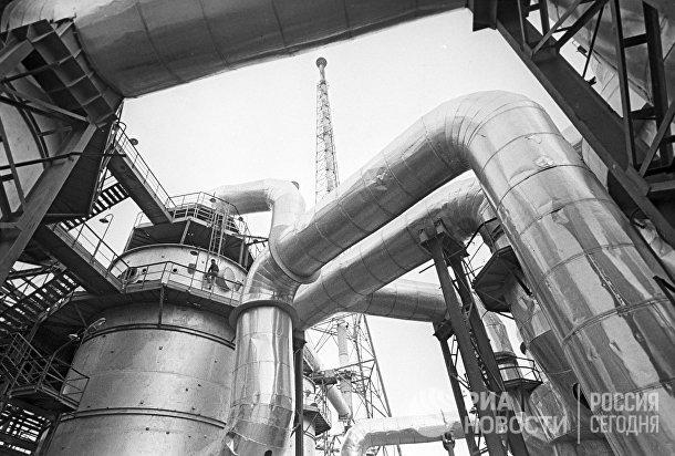 Цех по производству серной кислоты
