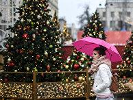 Аномальное тепло в Москве