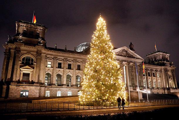 Рождественская елка в Берлине