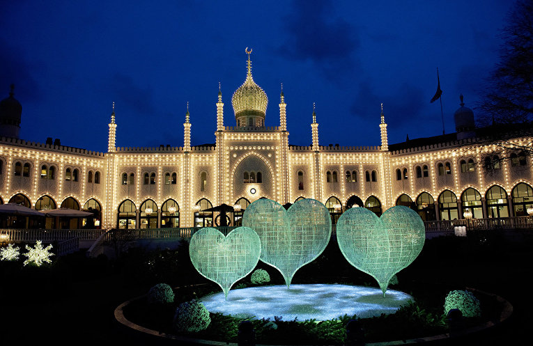 Мечеть в Копенгагене, Дания