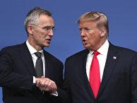 Politico: Трамп говорит о расширении НАТО на Ближнем Востоке