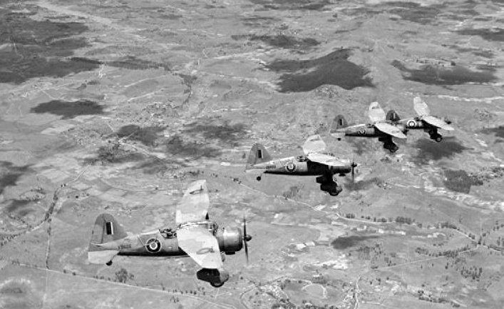 Британские ВВС на Мадагаскаре; декабрь, 1942.