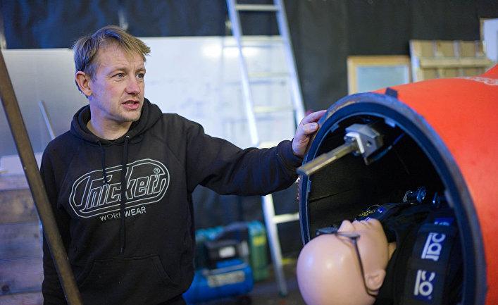Датский изобретатель Петер Мадсен