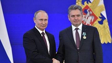 Орденом Дружбы награждён председатель Национального движения русофилов в Болгарии Николай Малинов