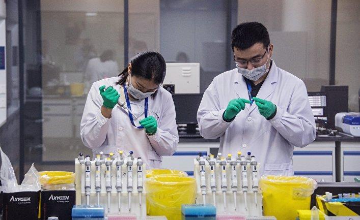 Работа лаборатории