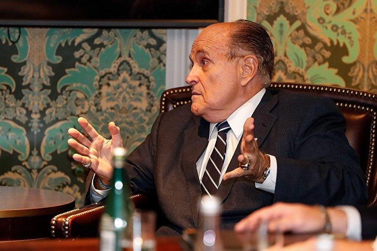 Американский политик Рудольф Джулиани