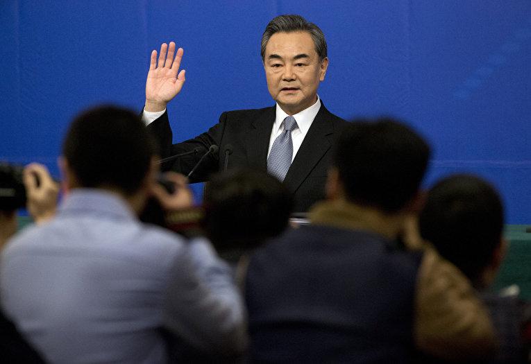 Министр иностранных дел Китая Ван И
