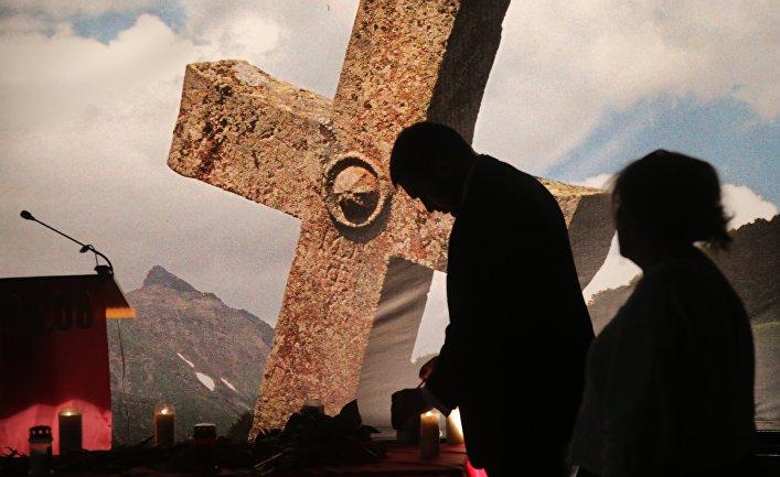 Памятное мероприятие, приуроченное к 7-летней годовщине трагических событий в Южной Осетии