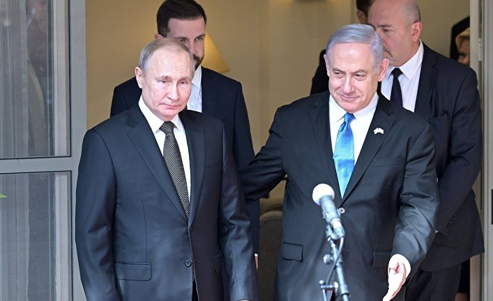 Рабочий визит президента РФ В. Путина в Израиль