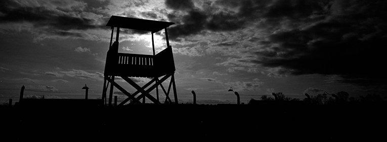 Смотровая башня в Освенциме