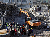 Последствия землетрясения в Элязыге, Турция