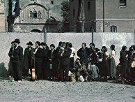 Цыгане, арестованные для депортации в Асперге, Германия
