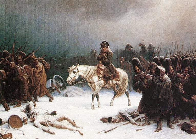 Отступление Наполеона из Москвы