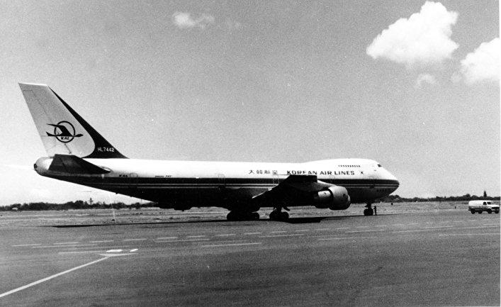 1 января 1982. Пассажирский Boeing 747 Корейских авиалиний, позже сбитый советским истребителем над Охотским морем