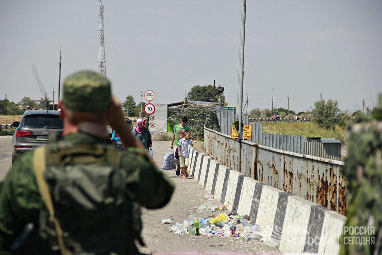 Граница России и Украины
