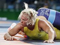 Шведская женщина-борец Йенни Франссон