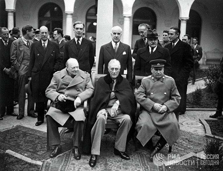 Ялтинская (Крымская) конференция союзных держав