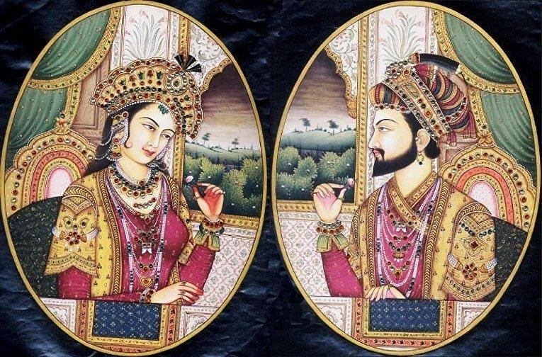 Шах-Джахан и Мумтаз-Махал