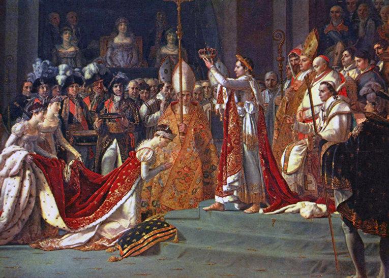 Коронование императора Наполеона I и императрицы Жозефины