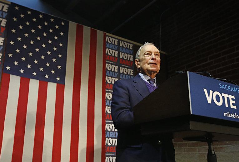 Кандидат в президенты США Майкл Блумберг