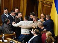 Рассмотрение земельной реформы в раде Украины