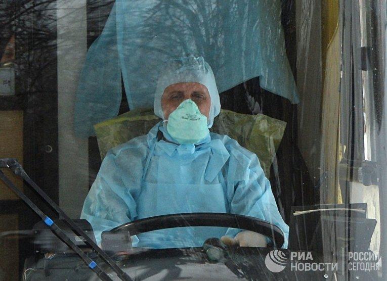 Карантинная зона для прибывших из КНР создается в Екатеринбурге
