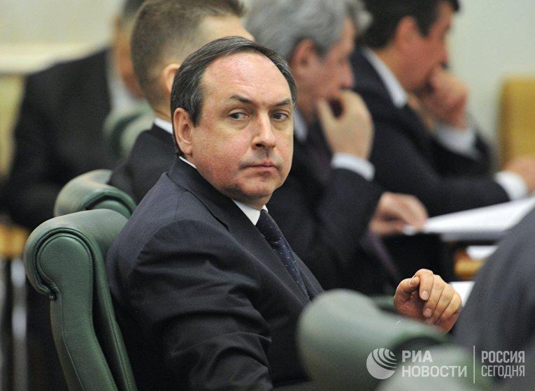 Председатель Комитета ГД по образованию Вячеслав Никонов