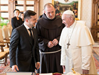 Аудиенция президента Украины с Папой Франциском
