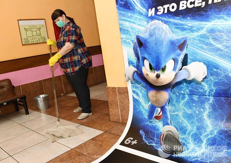 Профилактика гриппа в кинотеатрах Забайкалья