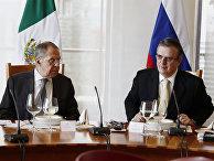 Рабочий визит главы МИД РФ Лаврова в Мексику