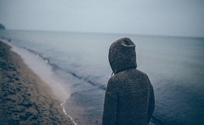 Человек у моря