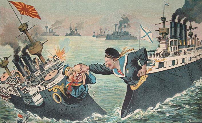 Русский плакат эпохи русско-японской войны