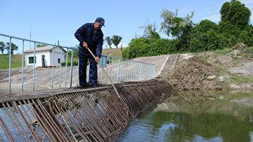 Феодосийское водохранилище начало получать воду из предгорного Крыма