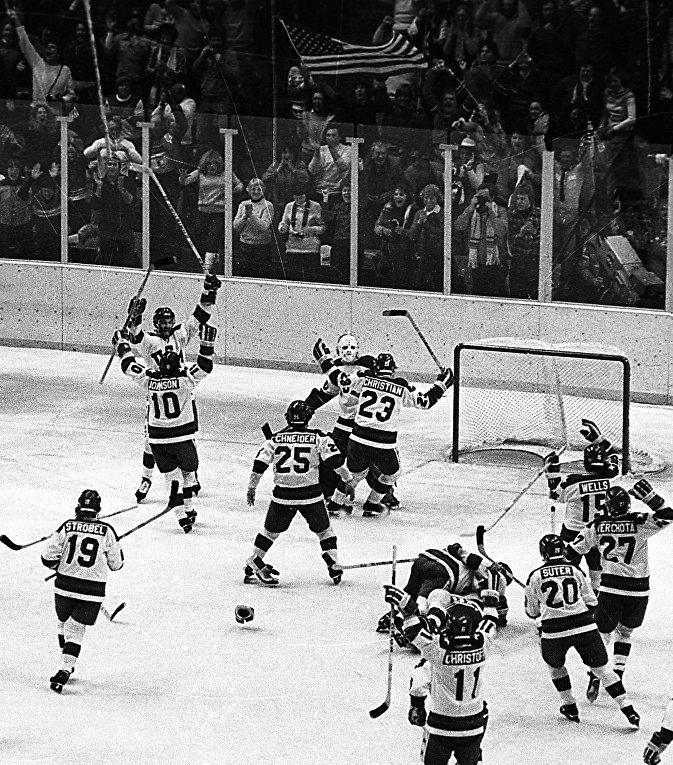 Хоккейный матч между сборными СССР и США, 22 февраля 1980 года