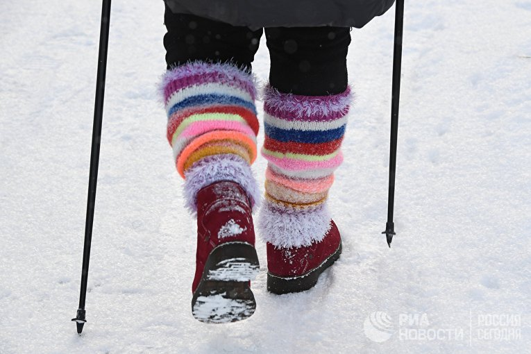 Занятия скандинавской ходьбой в Новосибирске