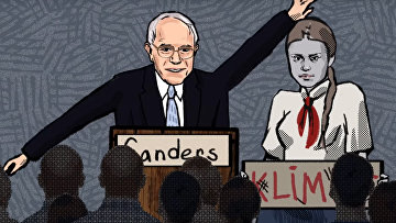 Prank with Bernie Sanders