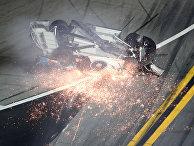 Авария на гонке Daytona 500