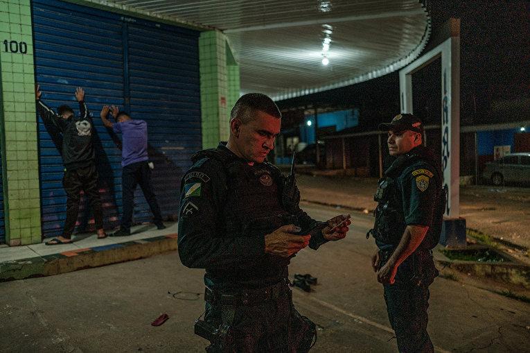 Сотрудники военной полиции