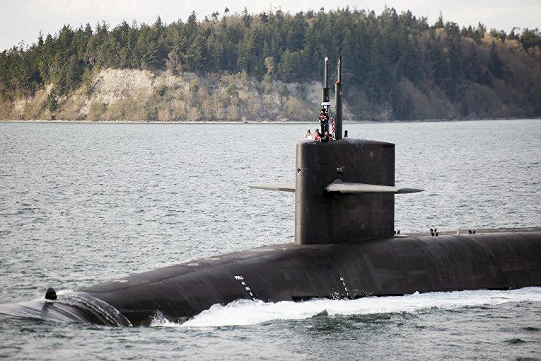 Подводная лодка USS Nebraska (SSBN-739)