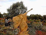 Сирийские военные в районе Идлиба, Сирия