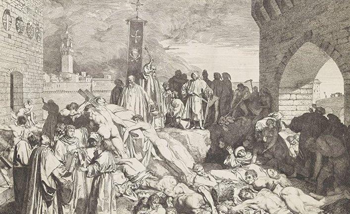 Чума во Флоренции в 1348 году