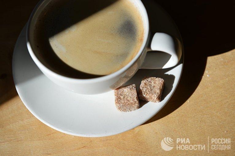 Кофе и сахар