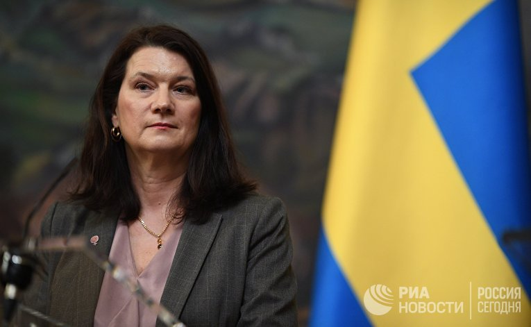 Министр иностранных дел Швеции Анн Линде