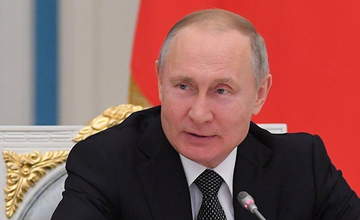 Владимир Путин считает, что у стран не может быть своих криптовалют