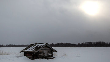 Баня из деревни Мижостров