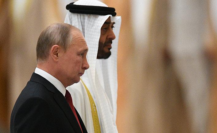 Государственный визит президента РФ В. Путина в ОАЭ
