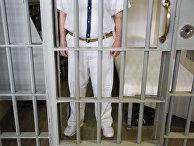 Преступник перед осуществлением смертного приговора в тюрьме, США