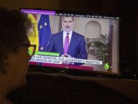 Король Испании Филипп VI обратился к жителям страны
