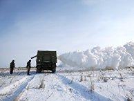 Учения войск РХБ защиты в Волгоградской области